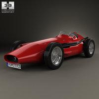 maserati 250f 250 3D model
