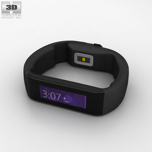 microsoft band 3D