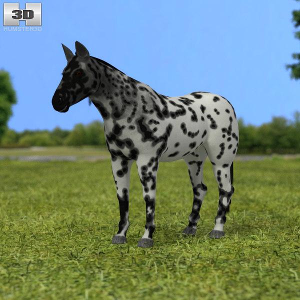 knabstrupper knabstrup 3D