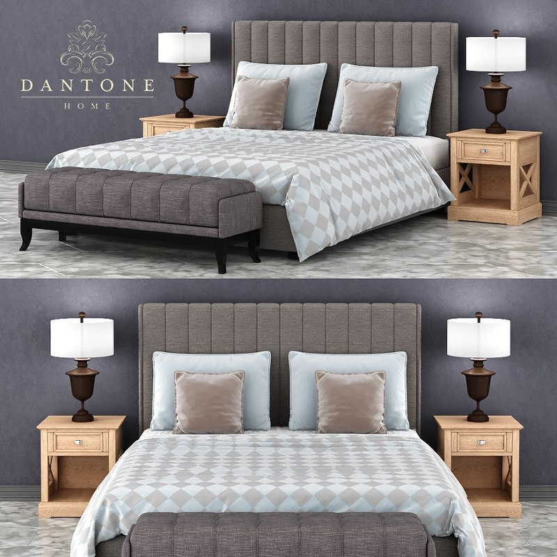 set bedroom dantonehome bed model