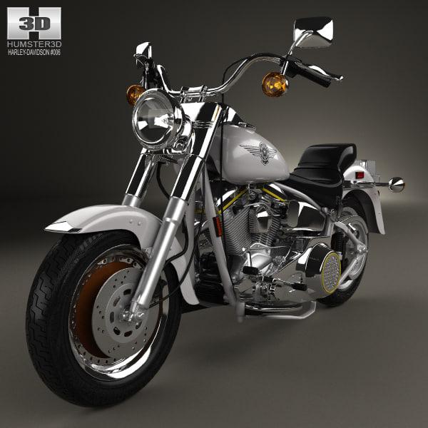 Harley Turbo Review: 3D Model Harley Davidson Harley-davidson