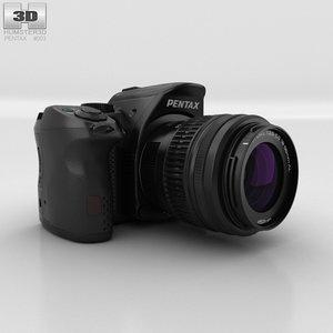 3D pentax k-30 k