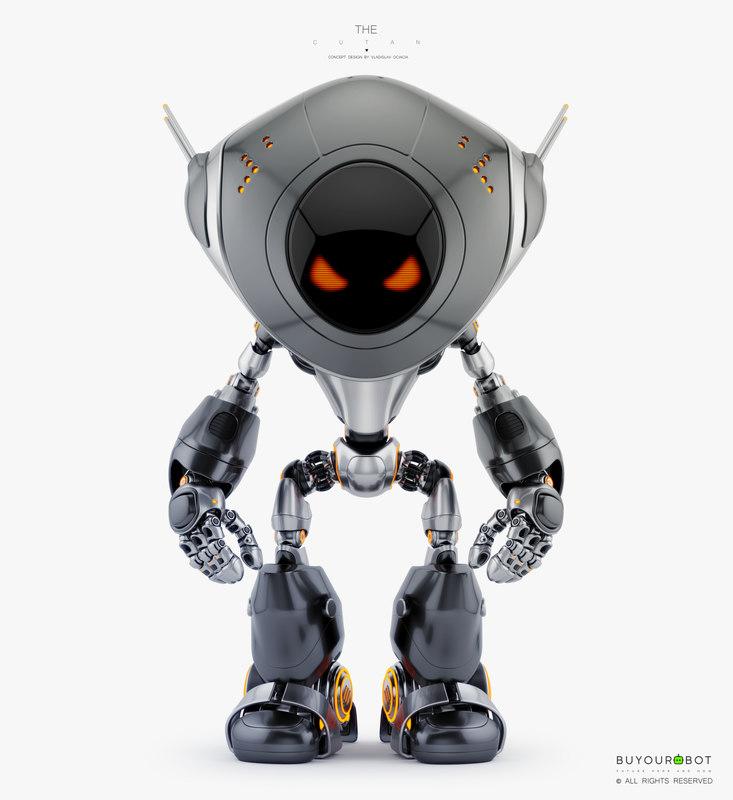 3D model bad robot