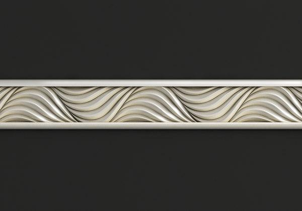 carved cnc 3D model