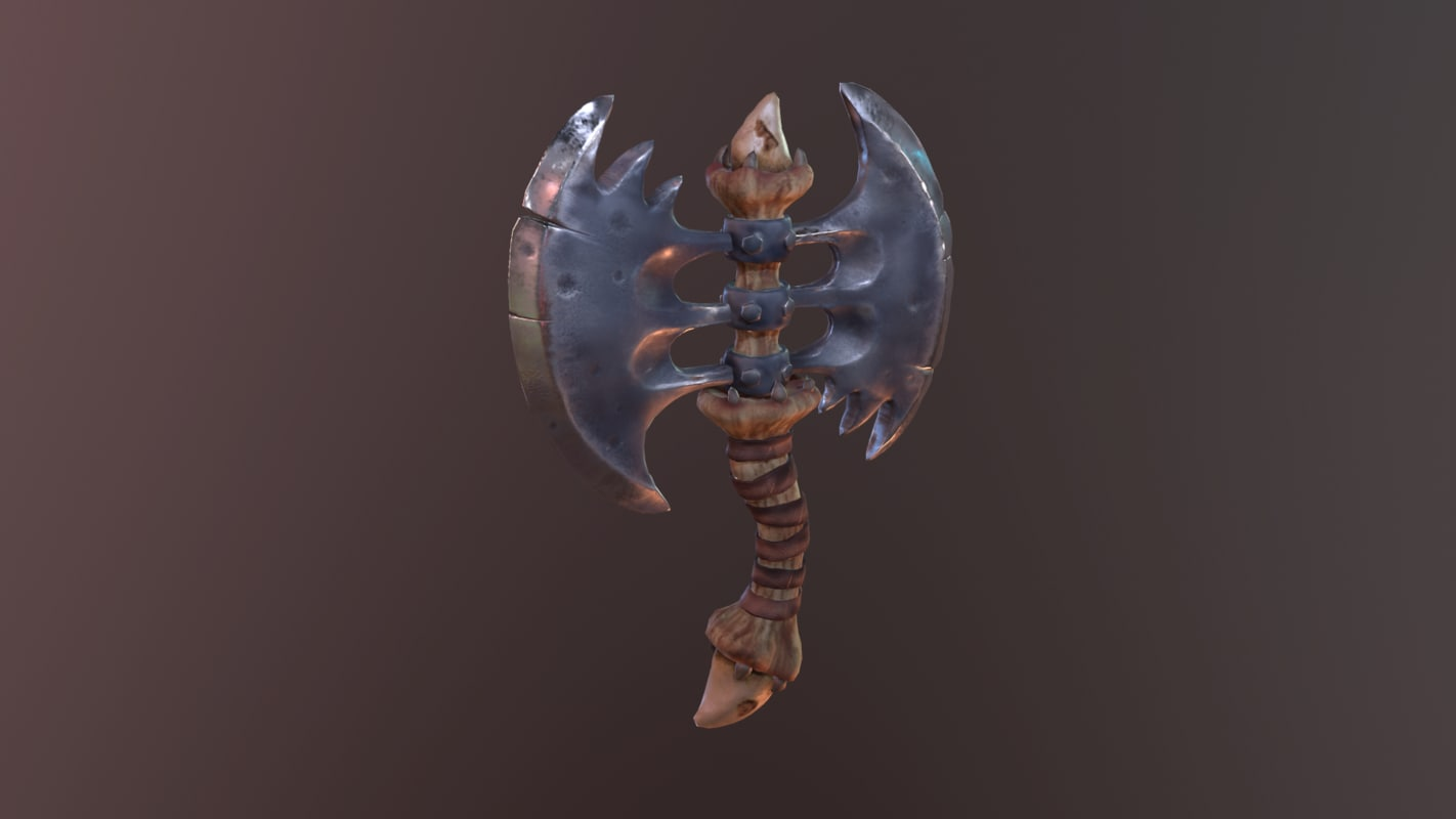 bones dragons 3D model