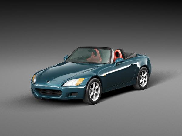 3D s2000 car games model