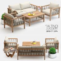 Altinci Cadde Serenity Garden Sofa Set