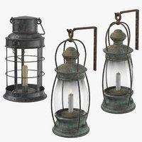 3D ship lantern