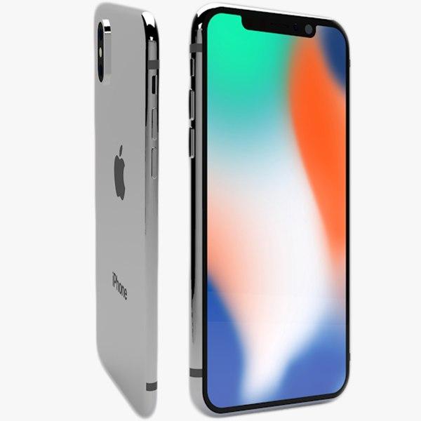 iphone x 3D model