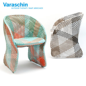 varaschin maat armchair 3D model