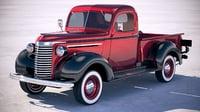 Chevrolet Pickup Truck 1939