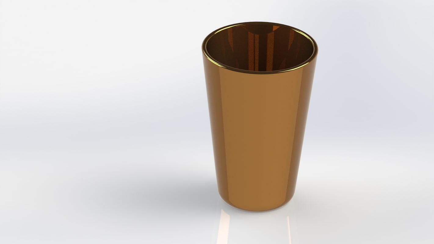 3D model modeled metal