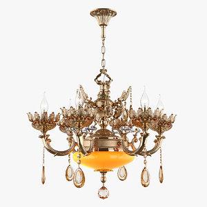 chandelier md 89325-6 2 3D model