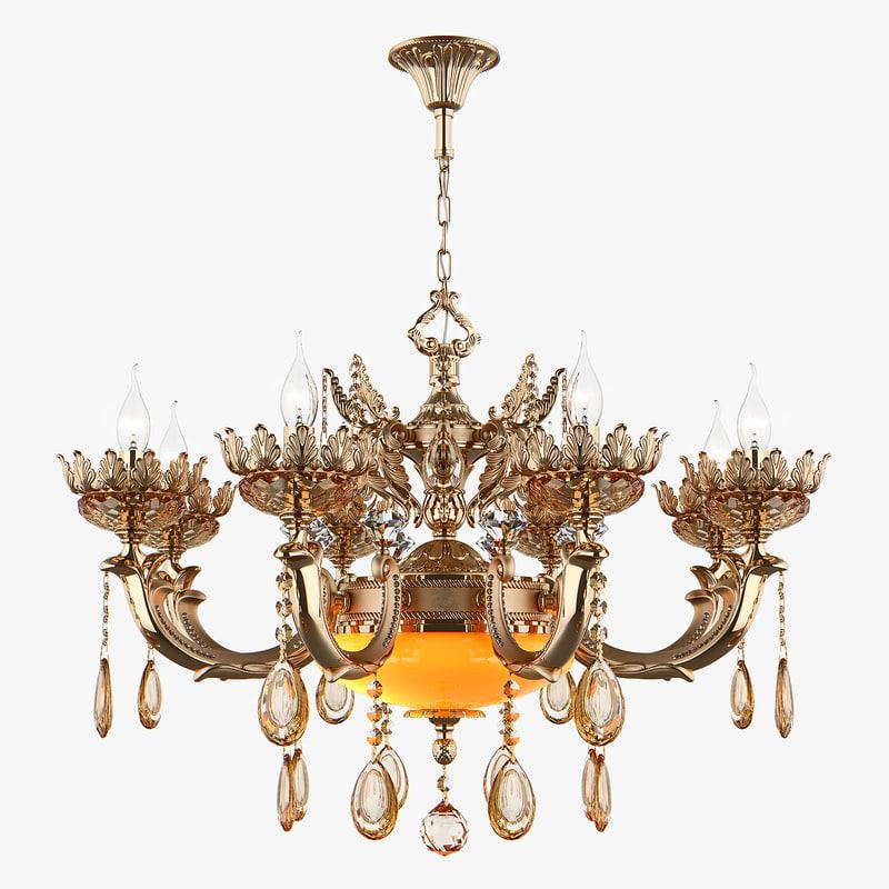 chandelier md 89325-8 2 3D