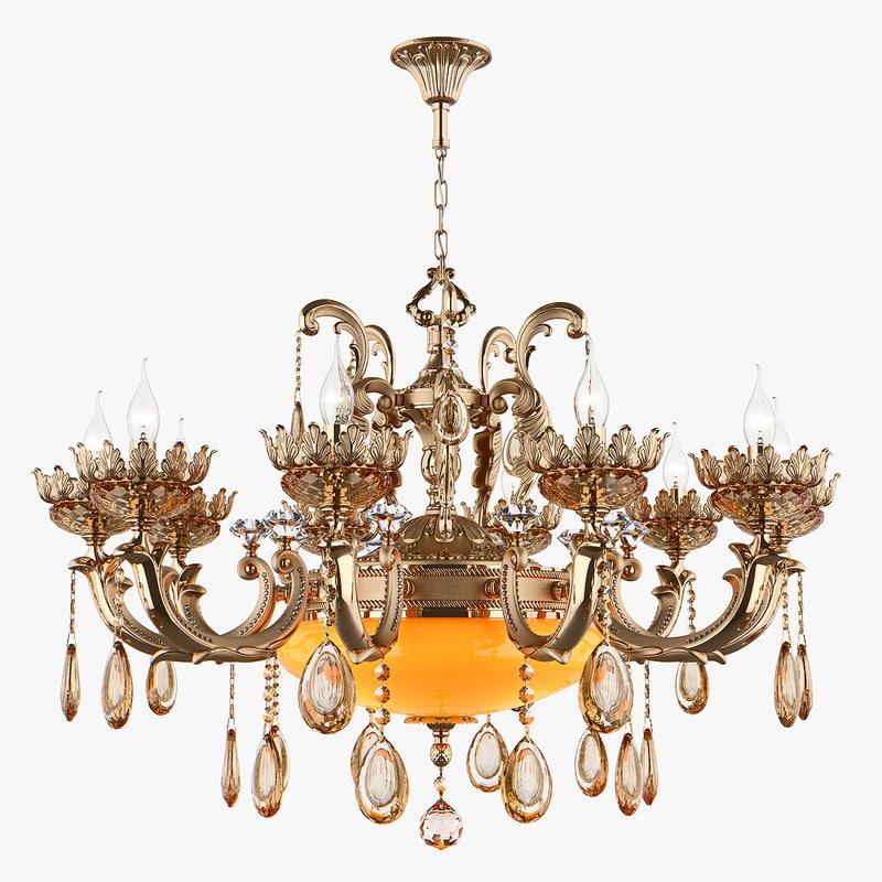 chandelier md 89325-10 3 3D model
