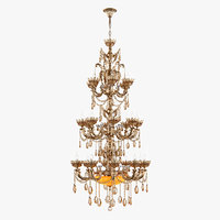 3D chandelier md 89325-27 osgona model