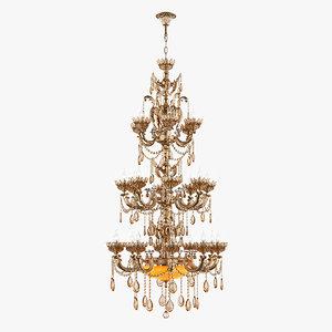 3D chandelier md 89325-27 osgona model