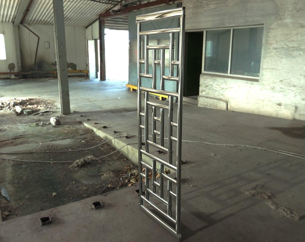 steel 3D model