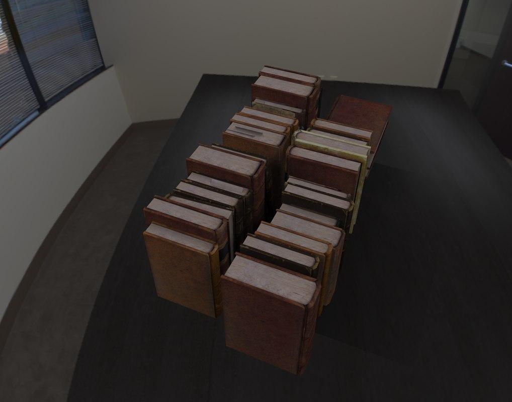 3D books kit ready