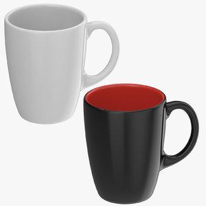 promotional coffee cups mug 3D model