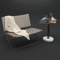 roda berenice lounge bernardo 3D