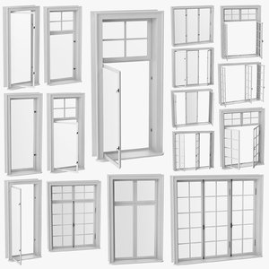 3D model classic windows