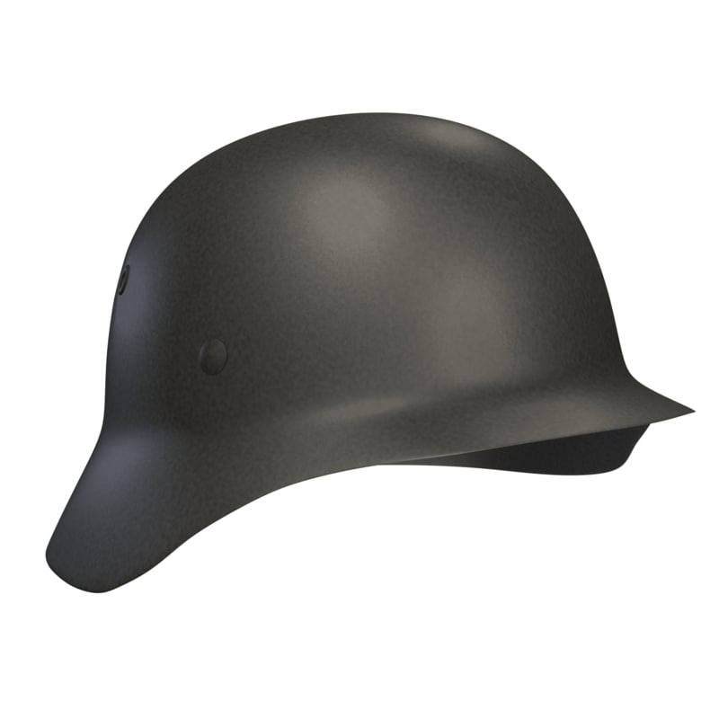 3D m40 german stahlhelm helmet