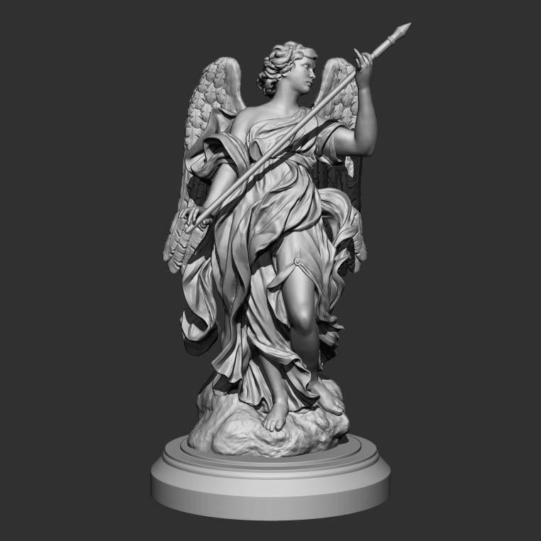 sculpture angel 3D