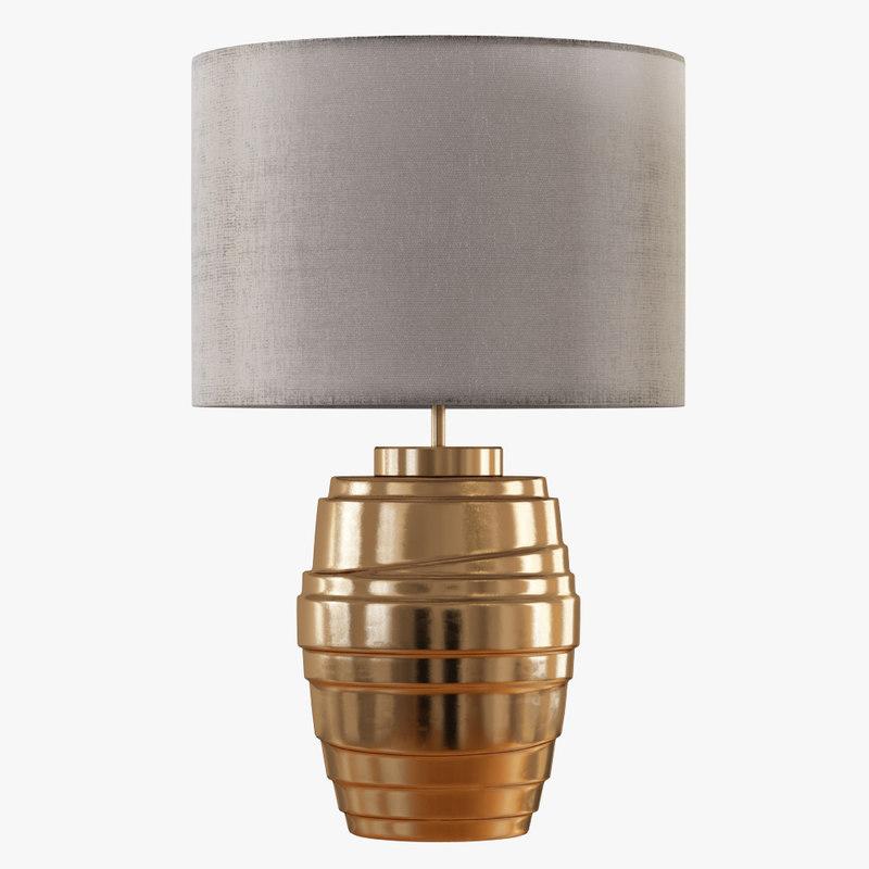 table lamp maxxi 3D model