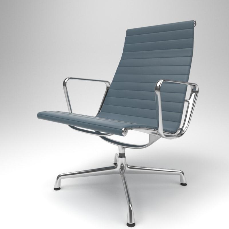 interior vitra aluminium chairs model