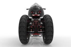motocycle 3D model