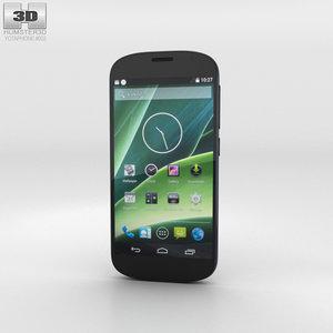 3D yotaphone 2 phone model