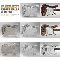 Carved Electric Guitar Pack