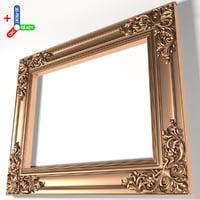 3D frame x12 model