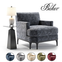 baker celestite lounge model