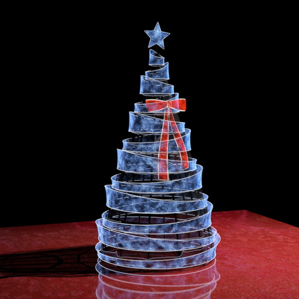 abstract christmas tree 3D model