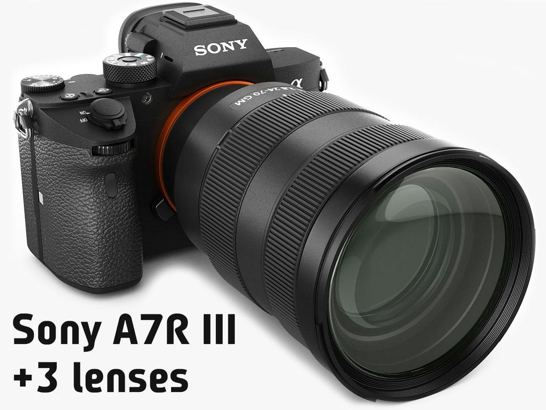 sony alpha 7r iii model