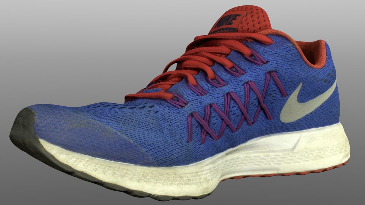 3D model sneaker games