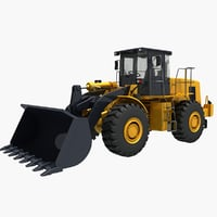 wheel loader load model