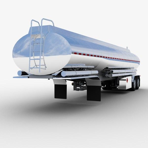fuel tank semi-trailer trailer model