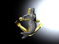 anchor mermaid model