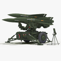 mim-23 hawk green color 3D model