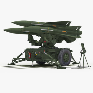 mim-23 hawk green color 3D model