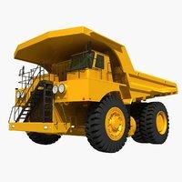 mining truck dump 3D model