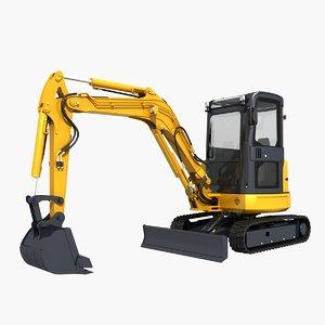 excavator mini model