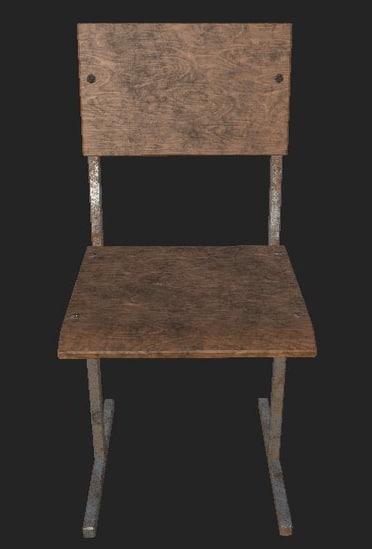 3D chair old soviet