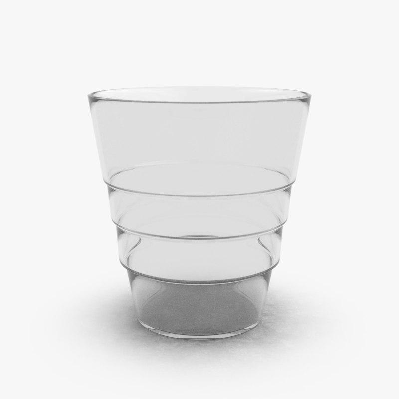 3D kitchen glass