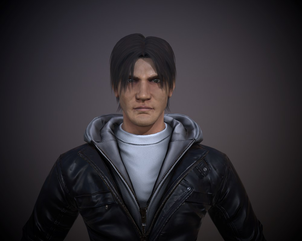 male character 3D