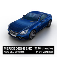 Mercedes-Benz AMG SLC 300 2016