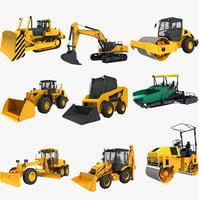 3D model vehicles construction
